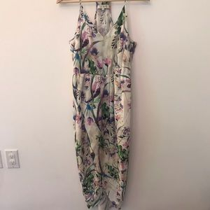 Amanda Uprichard floral wrap dress